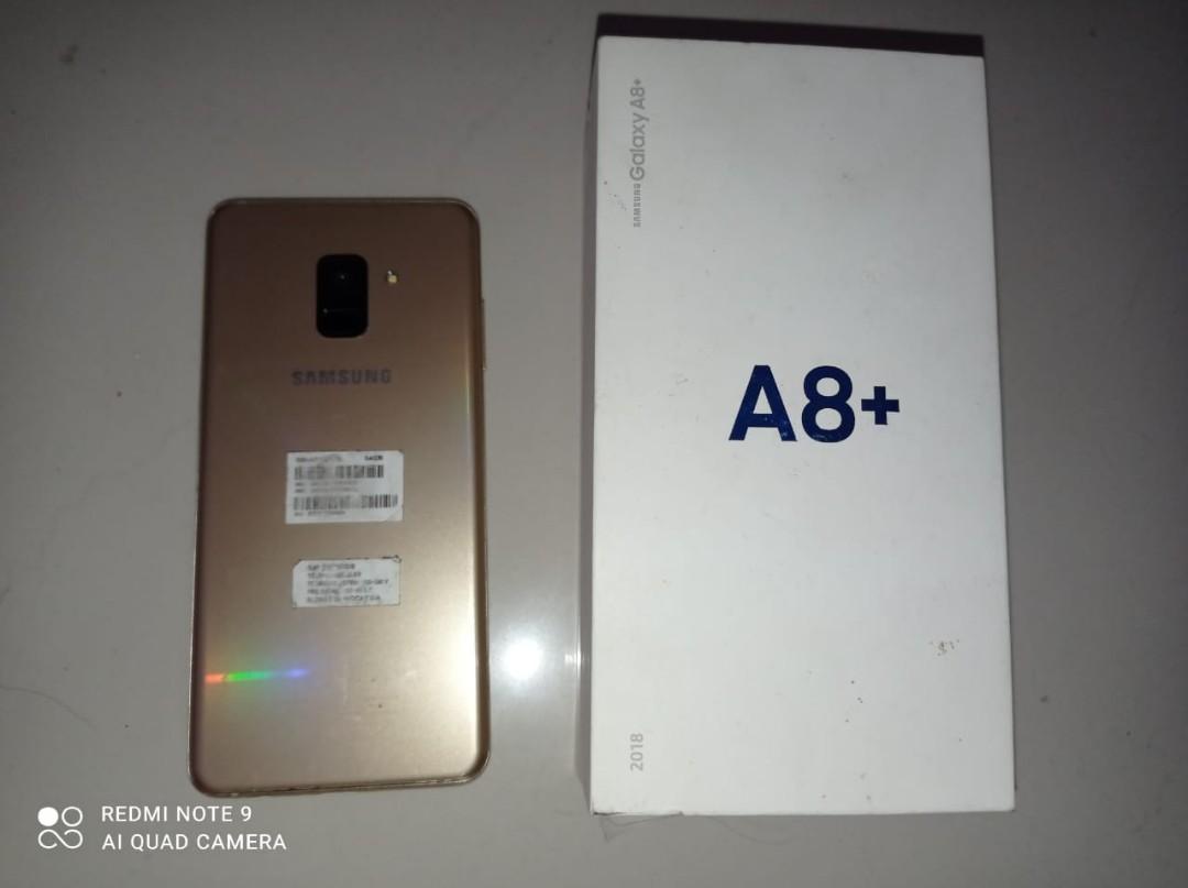 Samsung A8+ 2018 Ram 6 64GB