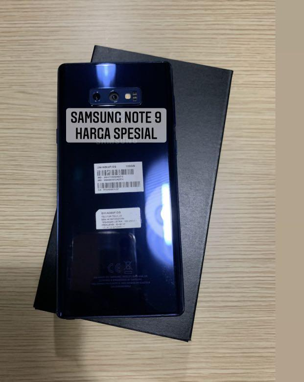 Samsung note 9 fullset
