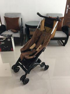 Stroller Coco Latte Geoby Pockit Coffee Brown Limited Edition