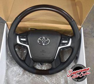 Toyota Land Cruiser LC200 Prado FJ150 steering wheel upgrade replacement