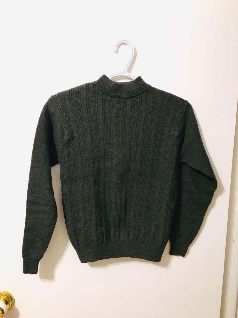 100% pure new wool sweater