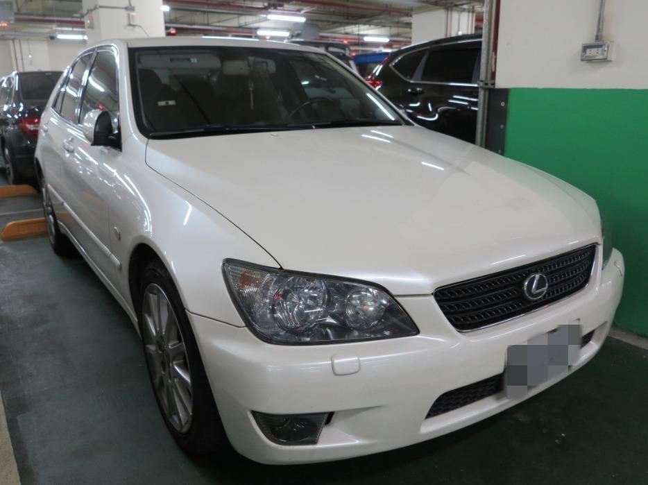 2003 LEXUS IS200 NA六缸 後驅 原鈑件 售13萬 db