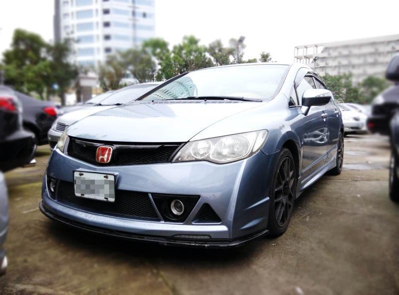 2007 Honda Civic 1.8 藍  配合全額貸、找 錢超額貸 FB搜尋 : 『阿文の圓夢車坊』