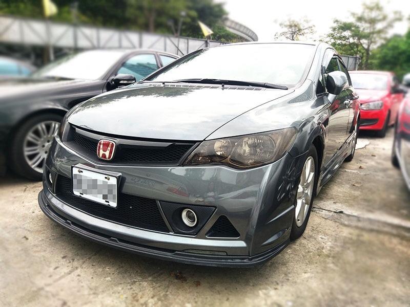 2010 Honda Civic 1.8 灰  配合全額貸、找 錢超額貸 FB搜尋 : 『阿文の圓夢車坊』