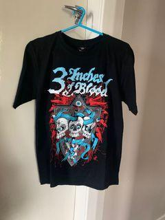 3 inches of blood tshirt