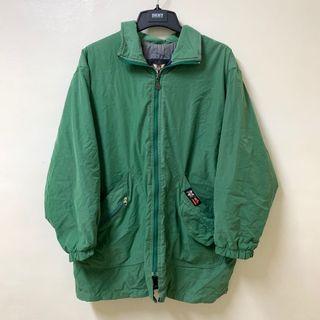 古著 日系街頭草綠色 外套