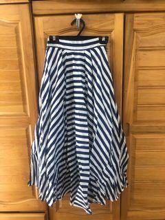 水莎 韓製 條紋裙子 全新轉賣