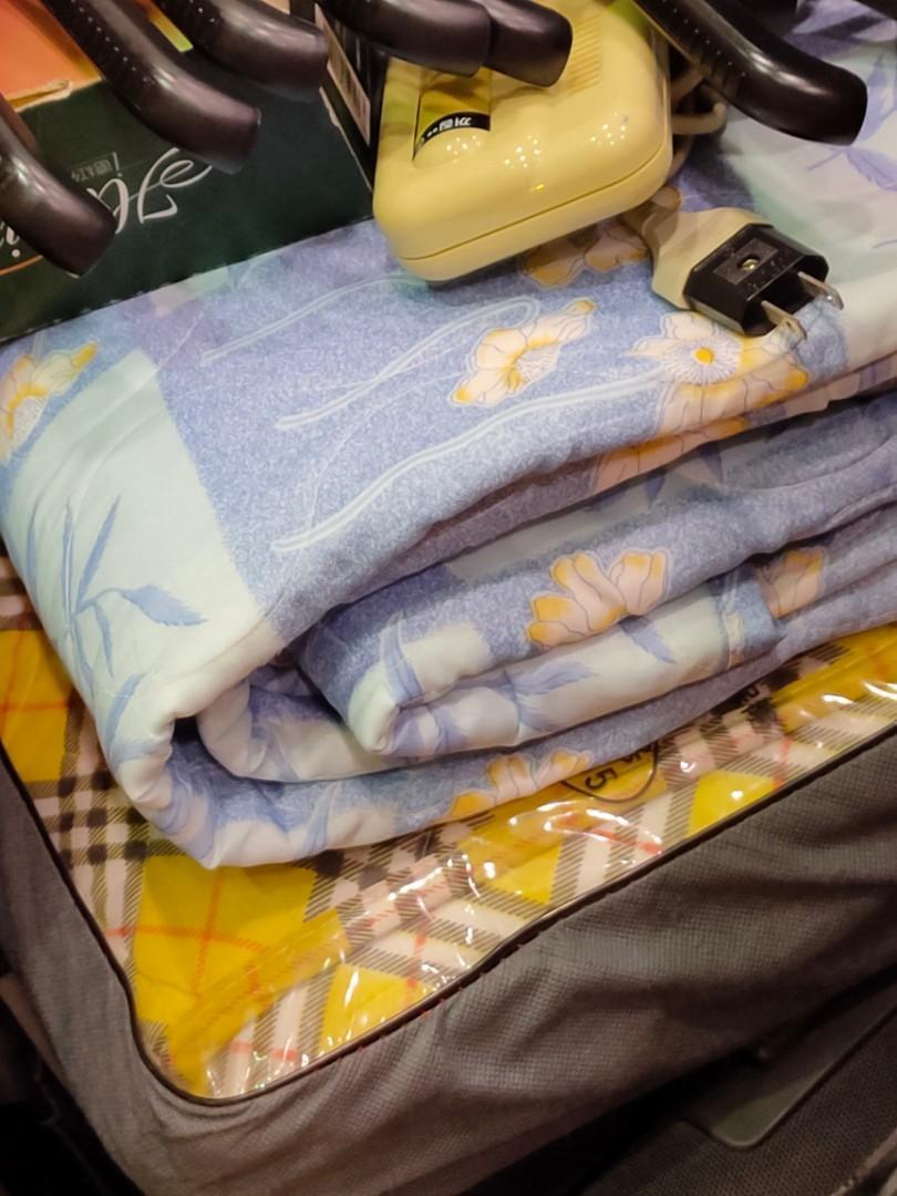 韓國 韓式 美容保暖電毯 雙人加熱電毯 保暖加溫墊
