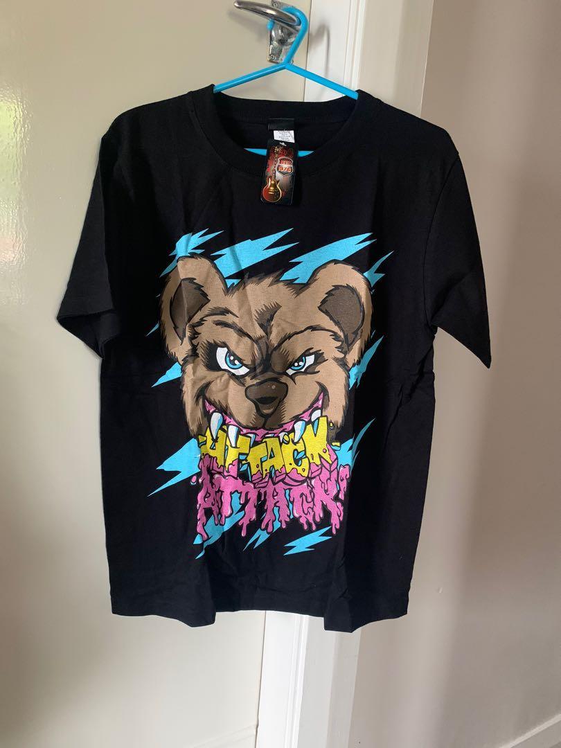 Attack teddy tshirt