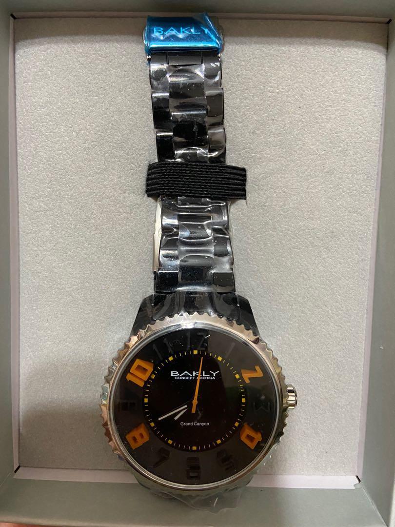 BAKLY輕巧時尚個性大錶徑腕 超輕量BA9019