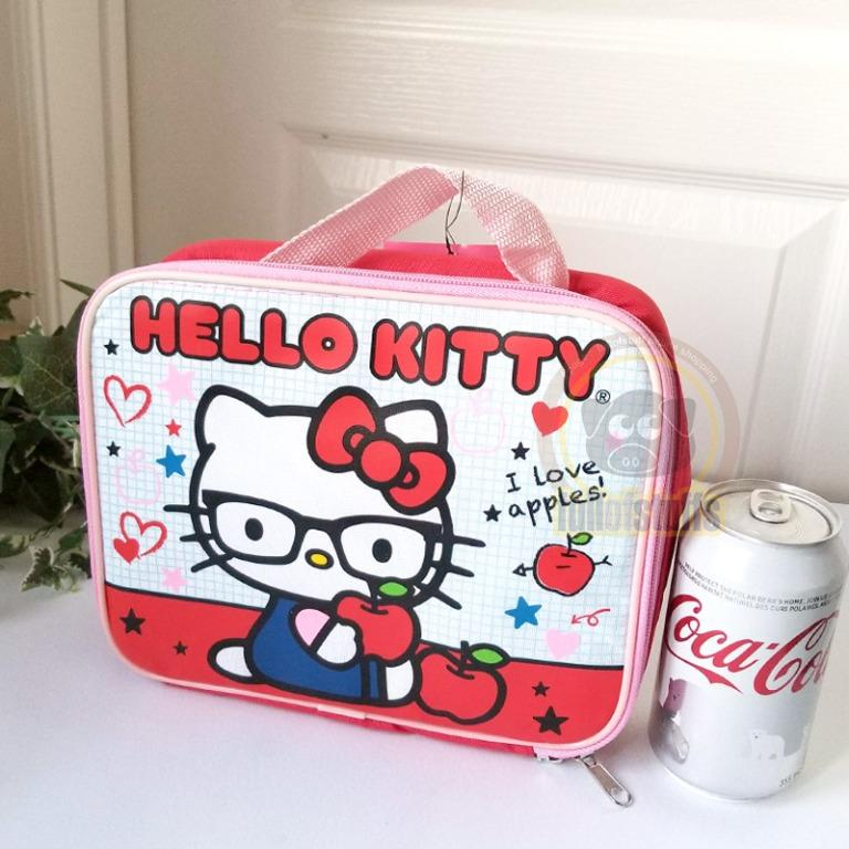 BNwT Sanrio Hello Kitty School Lunch Snack / Carry Game Toy Bag
