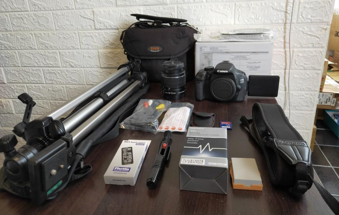 BODY+LENS+TRIPOD+SD CARD+BAG+BOX+STRAP+CHARGER+BATTERY+CABLE+BOOK+ALL  ENGLISH LANGUAGE SETTINGS Camera,All Together