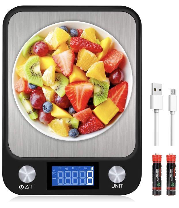 Brand new Digital Kitchen Scale, USB Charging Multifunction Accuracy Food Scale