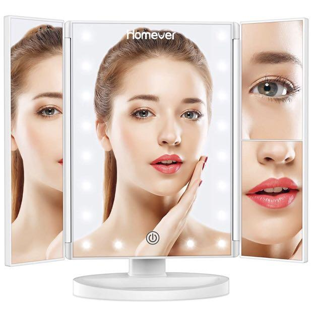 Brand new Lighted Makeup Mirror,3X 2X 1X Magnifying Mirror