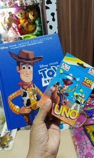 Buku Toy Story 4 + Uno Toy Story 1