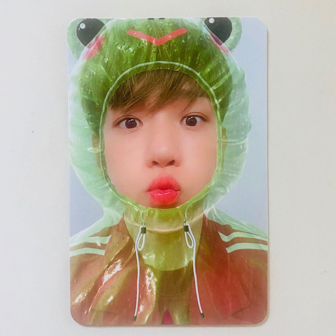 EXO SuperM Baelhyun Super One Froggy Official Photocard