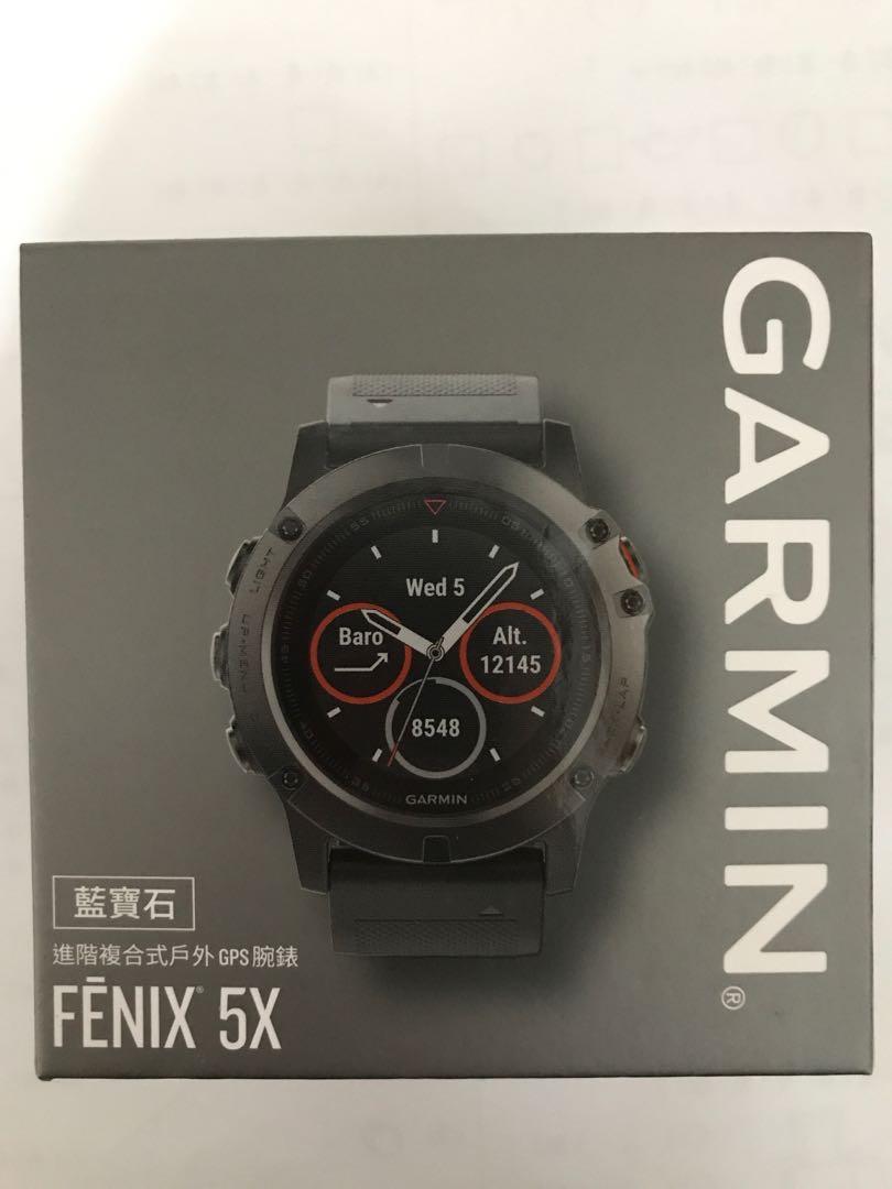 售garmin fenix 5X原廠快拆錶帶(26mm)