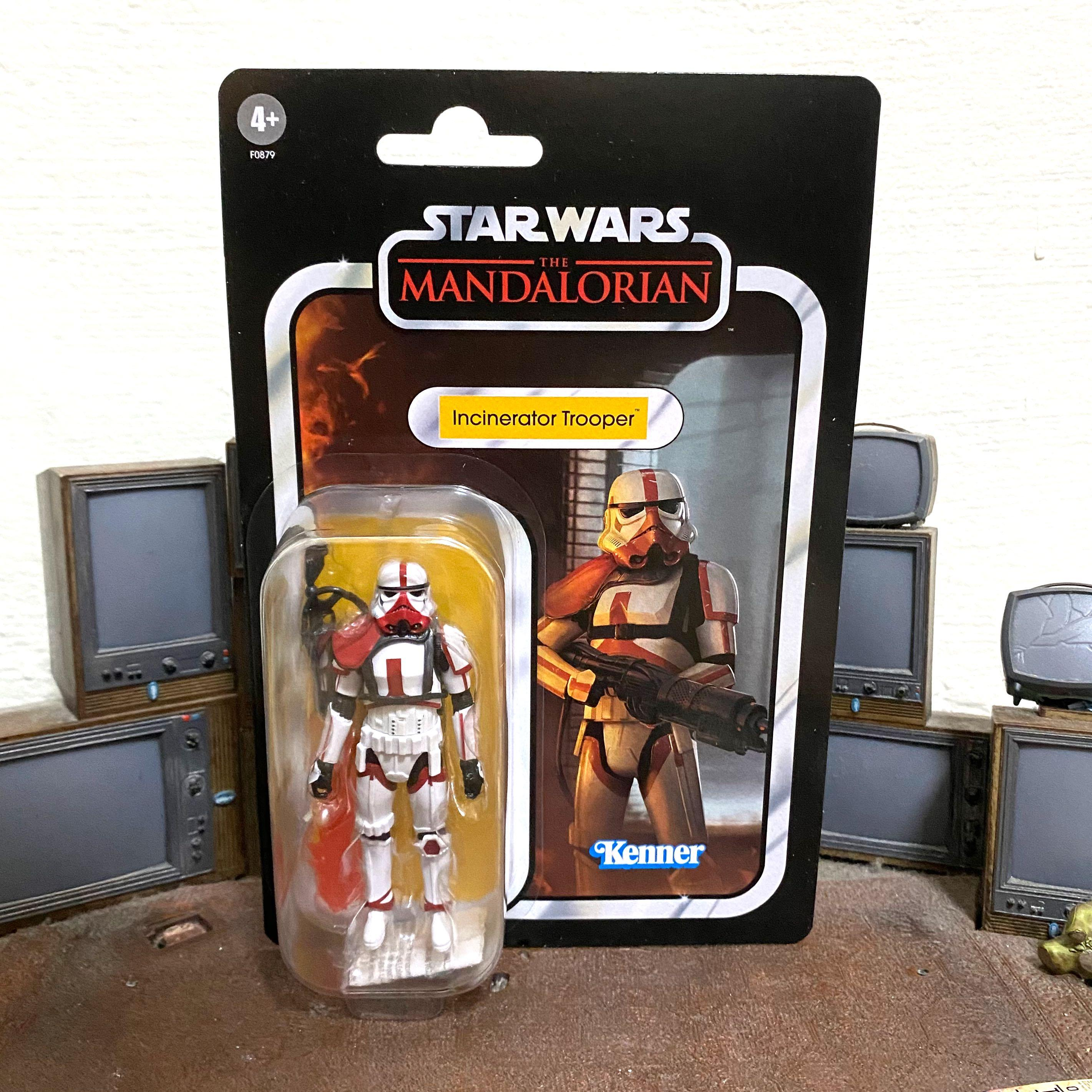 STAR WARS THE MANDALORIAN VINTAGE COLLECTION 3.75 KENNER IN HAND!