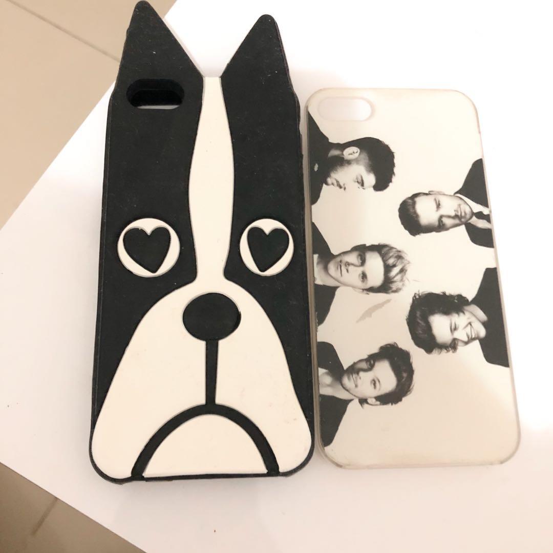 iPhone 5/5s Case (dapet 2case) :)