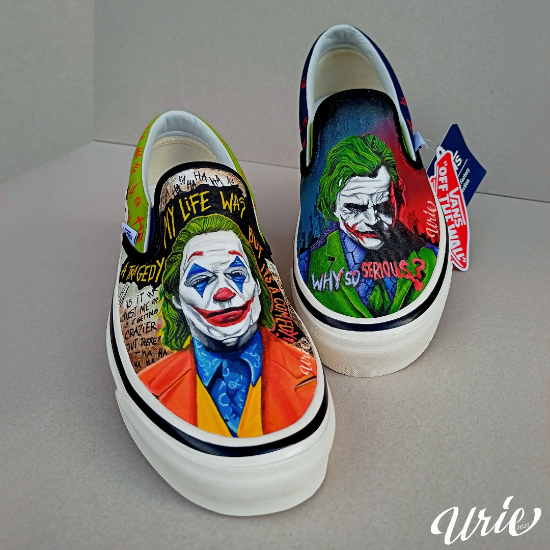 Buy joker custom vans> OFF-55%