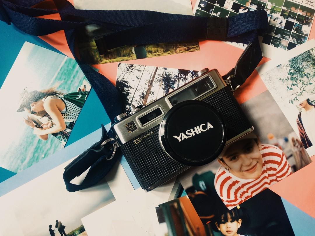 Kamera Analog / Film Yashica G Electro 35