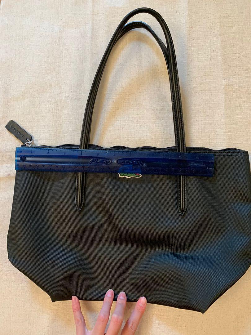 Lacost Small Black Tote Bag