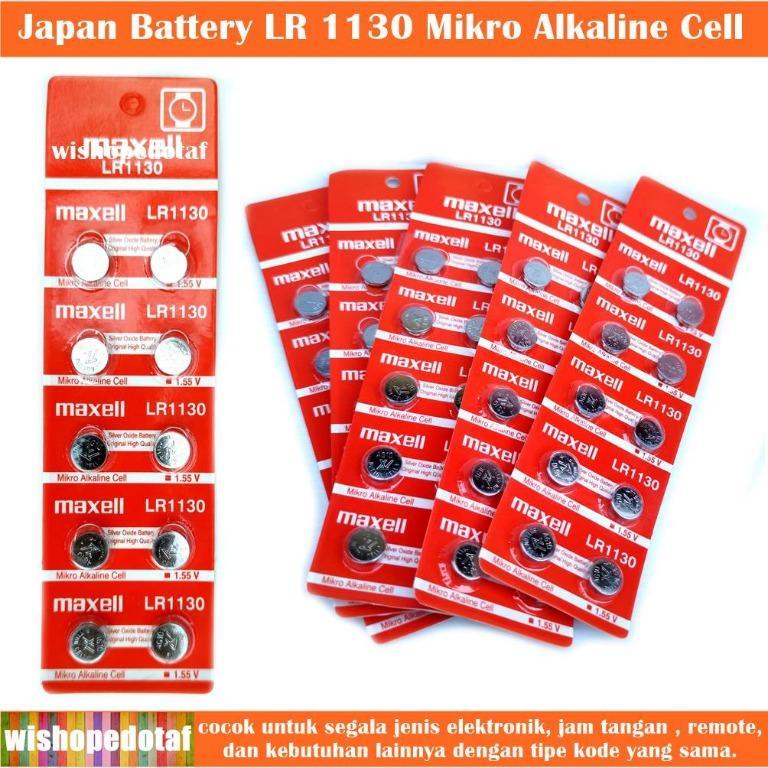 LR 1130 Batrai Jam tangan Japan