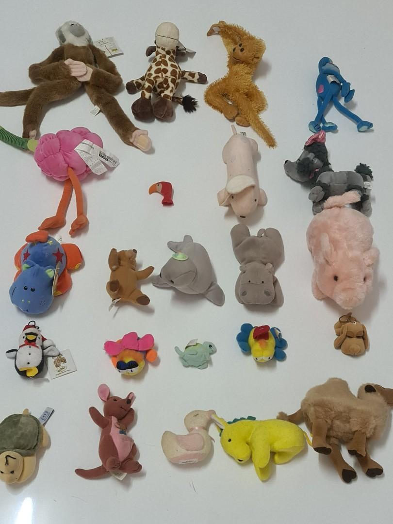 Mainan Anak B2 Toys Boneka Binatang Animal Preloved Beli di Luar Negri