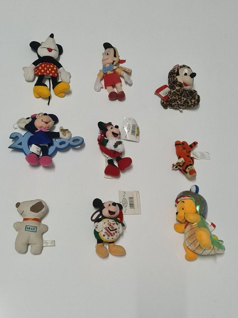 Mainan Anak D4 Toys Boneka Disney Mickey Minnie Tigger La Cie Pinokio