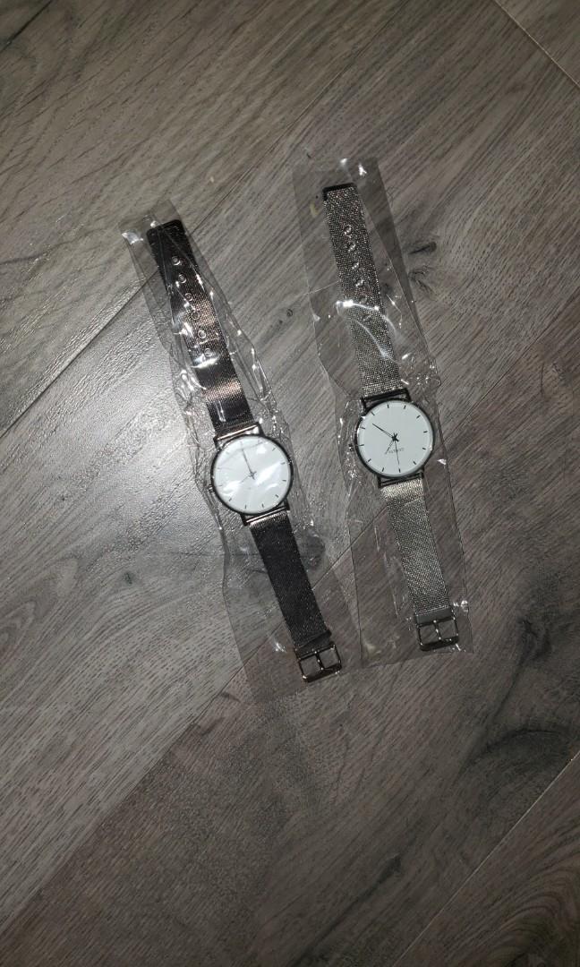 Men's and women's watches