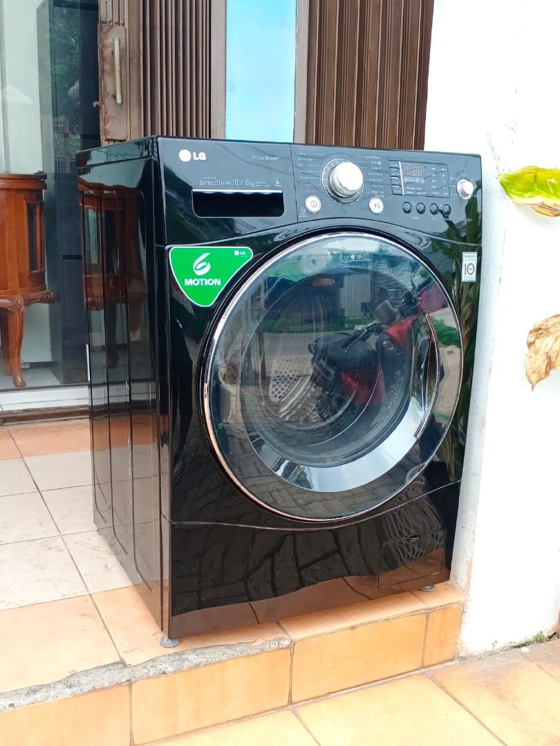 Mesin Cuci LG Front Loading 10KG Wash And Dry