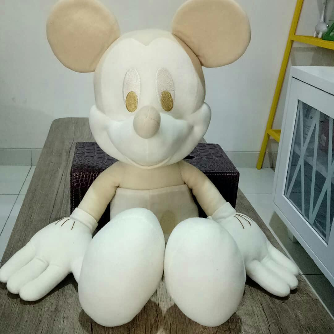 SPECIAL SALE!! mickey soft white with golden ear and body