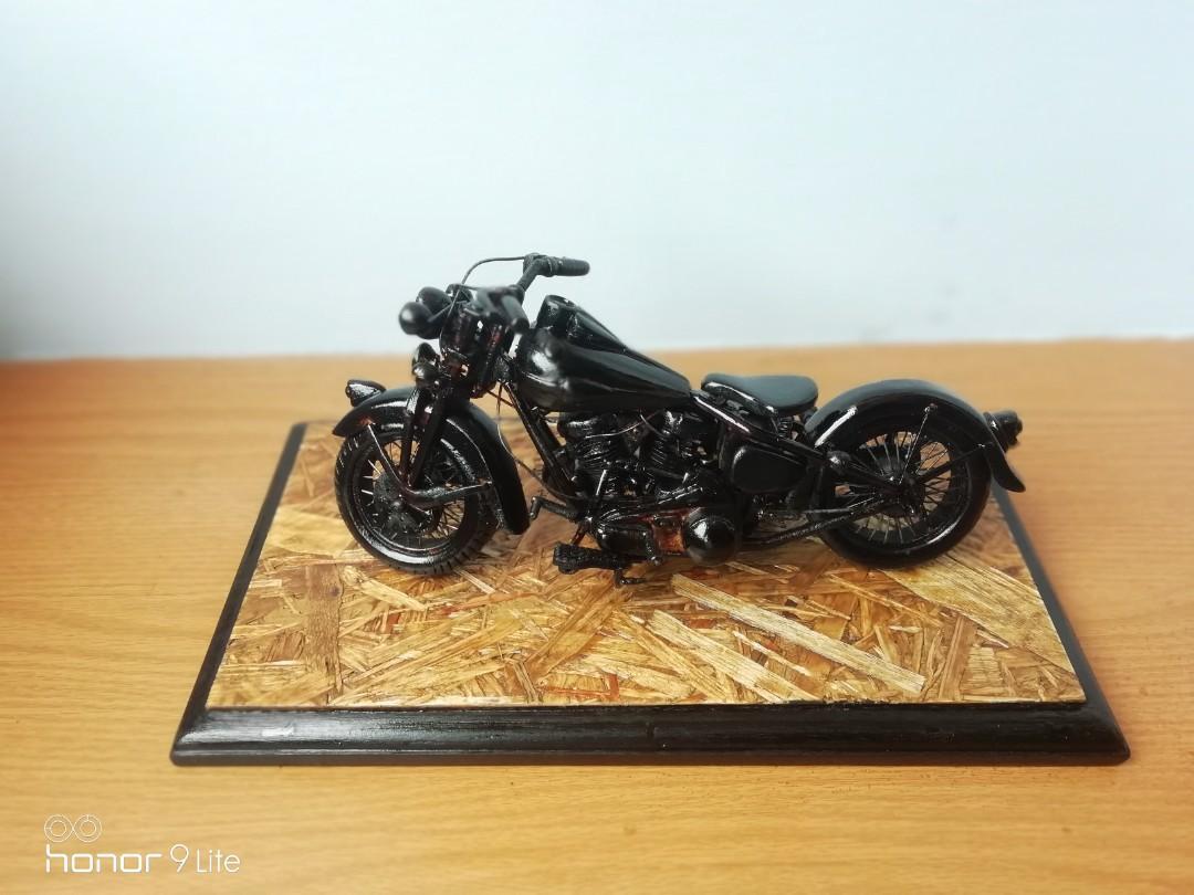 Miniatur motor harley
