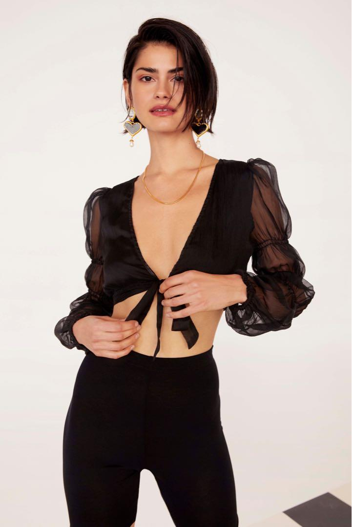 Nasty Gal Party Top
