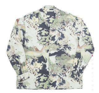 Old Joe Brand - Original Printed Open Collar Shirts (Long Sleeve)