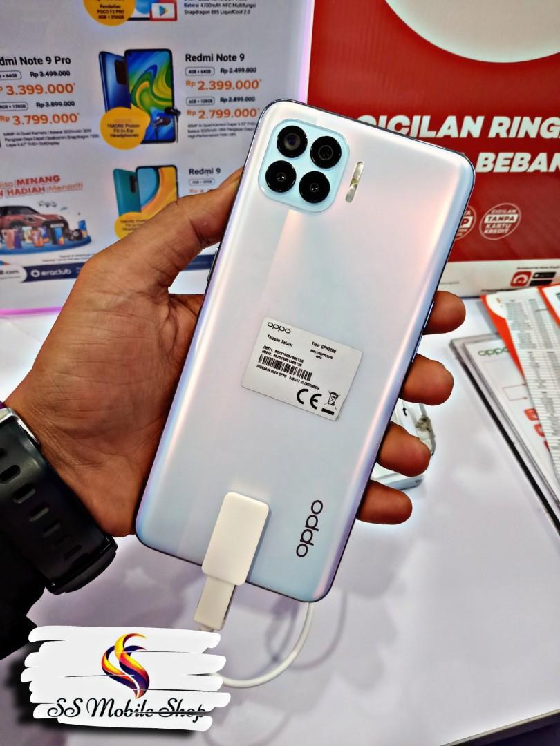 Oppo Reno 4F Resmi 8GB/128GB Kredit Mudah