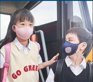 Philips 飛利浦電動口罩 使用N95級數濾心 中童口罩6-12歲
