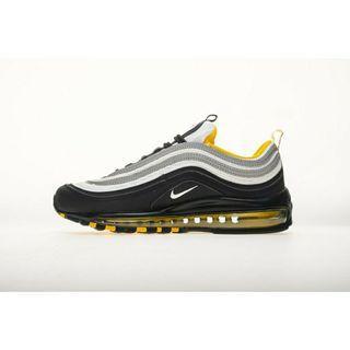black yellow white air max 97