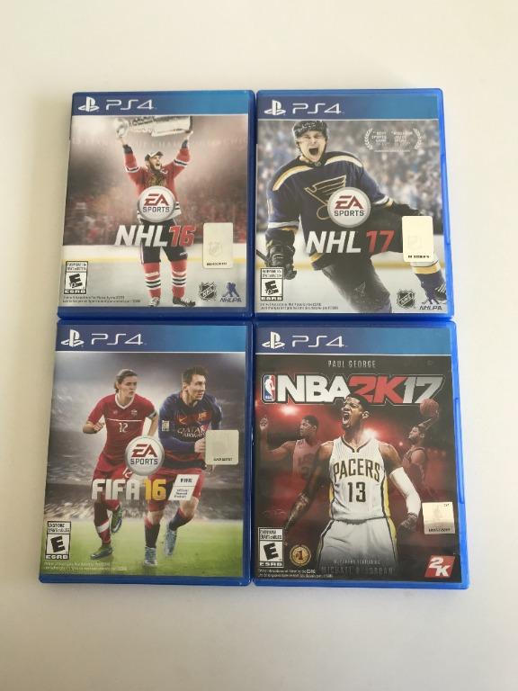 PS4 Sports Video Games
