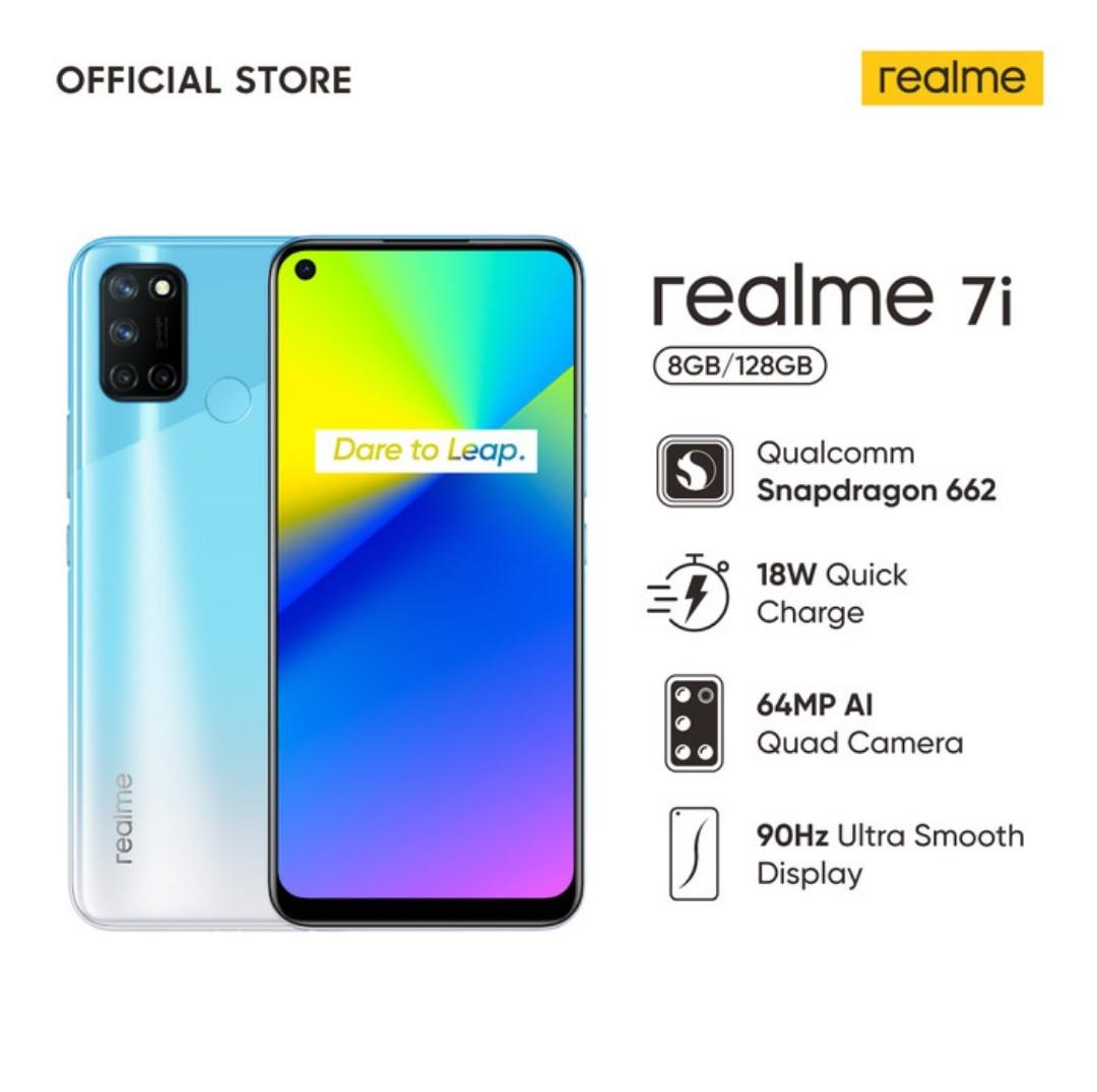 realme 7i 8/128, 64MP, 18 Watt Quickcharge