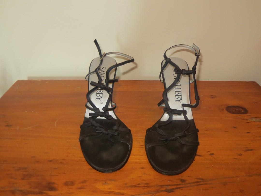 Size 7.5 Black High Heels