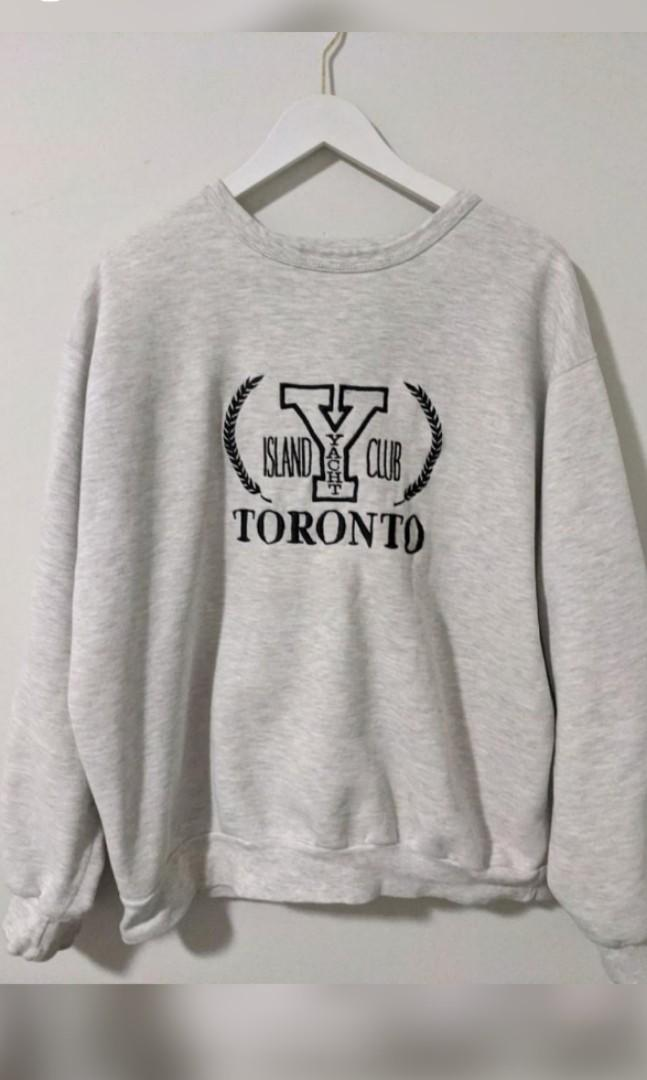 Toronto Island Yacht Club sweater