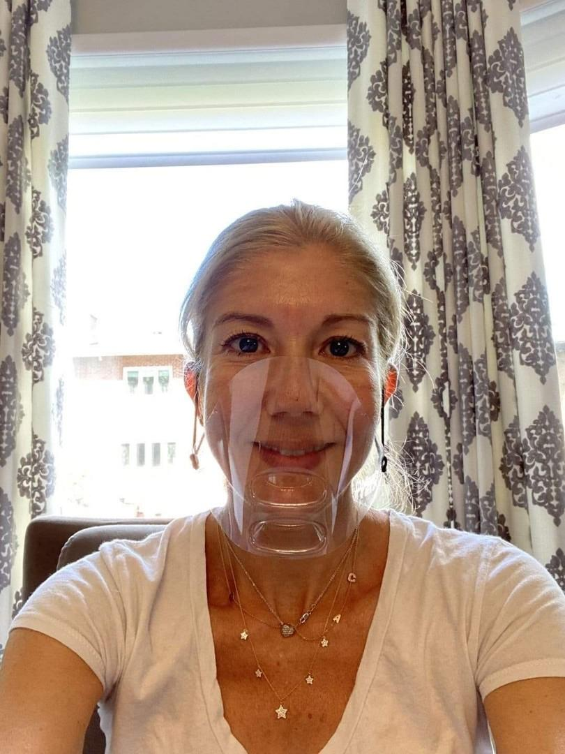 Transparent and clear mask