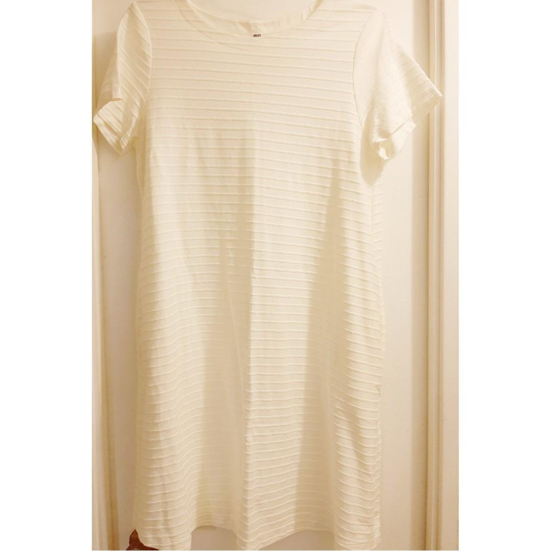 [Uniqlo]White Dress