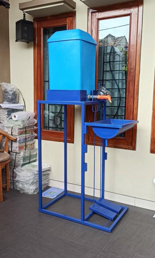 Washtafel Injekan + Tangki Fiber 60 liter