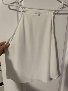 Wilfred silky tank white size small