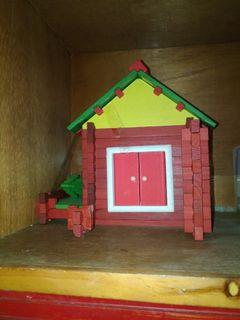 Wooden miniature house from Sofitel