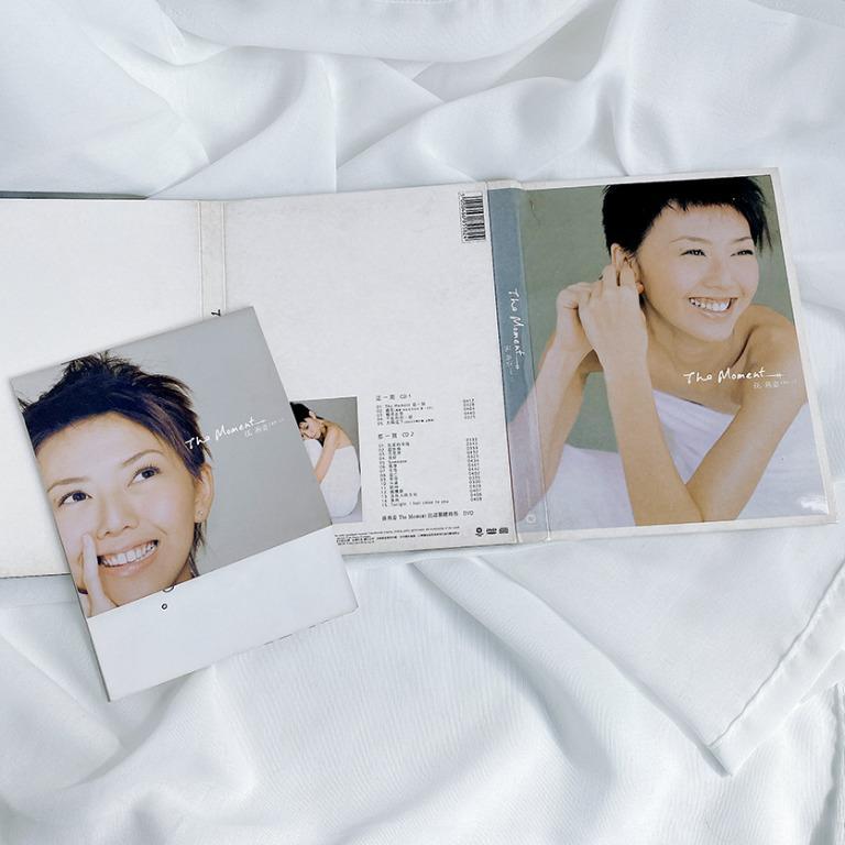 平常小姐┃2手┃華納唱片正版CD【孫燕姿 The Moment專輯】雙CD Yan Zi多首經典歌曲 向左走向右走