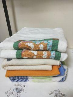 3 Baby blanket and 2 towel