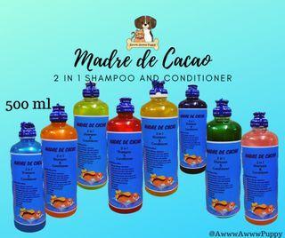 500ml  MDC 2 in 1 Shampoo and Conditioner